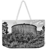 Industrial Tank In Black And White Weekender Tote Bag