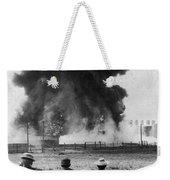 Industry: Oil Fire, C1902 Weekender Tote Bag