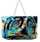 Infinity Time Cube Weekender Tote Bag