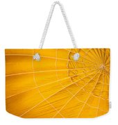 Inflating Folds Of Yellow Weekender Tote Bag
