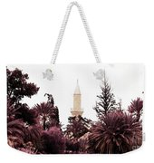 infrared Hala Sultan Tekke Weekender Tote Bag