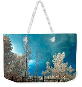 Infrared Summer Storm Weekender Tote Bag