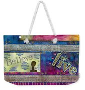 Infuse Me With Laughter Weekender Tote Bag