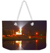 Inland Lighthouse In Indiana Weekender Tote Bag