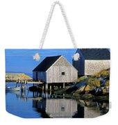 Inlet At Peggys Cove Nova Scotia Weekender Tote Bag