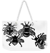 Insects: Bees Weekender Tote Bag