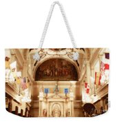 Inside St Louis Cathedral Jackson Square French Quarter New Orleans Diffuse Glow Digital Art Weekender Tote Bag
