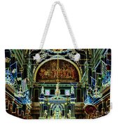 Inside St Louis Cathedral Jackson Square French Quarter New Orleans Glowing Edges Digital Art Weekender Tote Bag