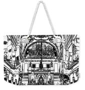 Inside St Louis Cathedral Jackson Square French Quarter New Orleans Stamp Digital Art Weekender Tote Bag