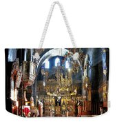 Inside The Church Weekender Tote Bag