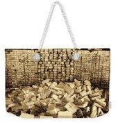 Inside The Historical Brick Kiln Decatur Alabama Usa Weekender Tote Bag