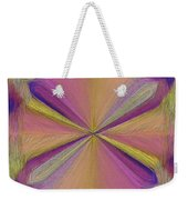 Inside The Rainbow Weekender Tote Bag