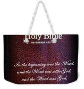 Inspirations 17 John 1 V1 Weekender Tote Bag