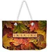 Inspire-autumn Weekender Tote Bag