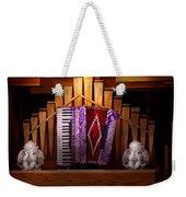 Instrument - Accordian - The Accordian Organ  Weekender Tote Bag
