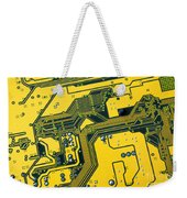 Integrated Circuit Weekender Tote Bag by Carlos Caetano
