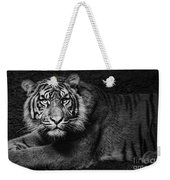 Intent Weekender Tote Bag by Andrew Paranavitana