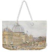 International Exhibition Weekender Tote Bag by Edward Sheratt Cole