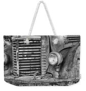 International Truck Black And White Weekender Tote Bag
