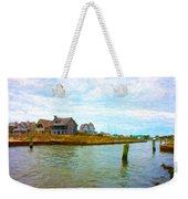 Into The Marina Weekender Tote Bag