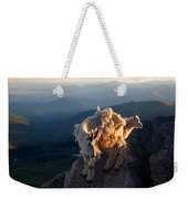 Two Faces West Weekender Tote Bag