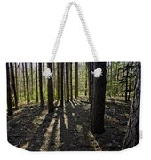 Into The Woods Spnc Michigan Weekender Tote Bag
