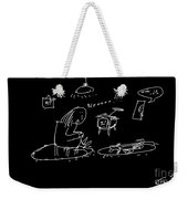 Intruder Weekender Tote Bag
