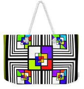 Invisible Diamond Weekender Tote Bag
