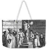 Ipswich Martyr, 1555 Weekender Tote Bag by Granger
