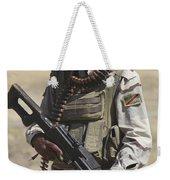 Iraqi Army Soldier Weekender Tote Bag