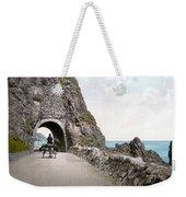 Ireland: Black Cave Tunnel Weekender Tote Bag