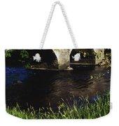 Ireland Bridge Over Water Weekender Tote Bag