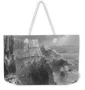 Ireland: Cliffs, C1840 Weekender Tote Bag