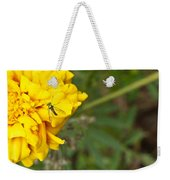 Iridescent Fly On Marygold Weekender Tote Bag