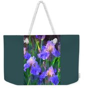 Iris 51 Weekender Tote Bag by Pamela Cooper