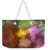 Iris Abstract II Weekender Tote Bag