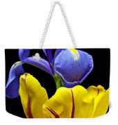 Iris And Tulip Weekender Tote Bag