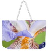 Iris Full Bloom Weekender Tote Bag