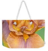 Iris In Gold  Weekender Tote Bag