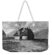 Irish Cabin, 18th Century Weekender Tote Bag