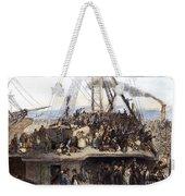 Irish Immigrants, 1850 Weekender Tote Bag