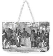 Irish Immigrants, 1851 Weekender Tote Bag