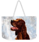 Irish Red Setter Weekender Tote Bag