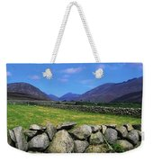 Irish Snow Scenes, Co Wicklow Weekender Tote Bag