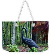 Iron Crane Poses 1 Weekender Tote Bag