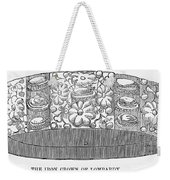 Iron Crown Of Lombardy Weekender Tote Bag