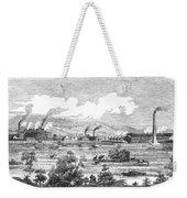 Iron Works, 1855 Weekender Tote Bag