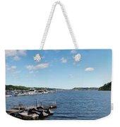 Irondequoit Bay Panorama Weekender Tote Bag