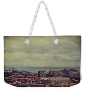 Is Anybody Out There Weekender Tote Bag by Laurie Search