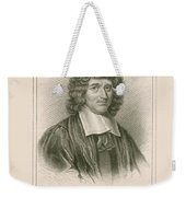Isaac Barrow, English Mathematician Weekender Tote Bag